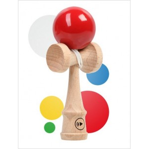 PLAY PRO KENDAMA POKET FIRE - DE BUZUNAR 10,5 CM