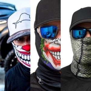 FROST TECH TWISTED FLEECE LINED FACE SHIELD