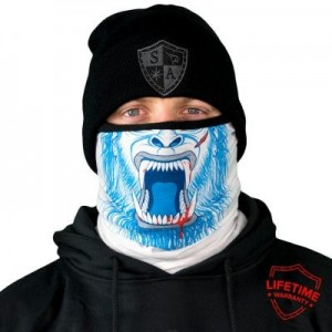 FROST TECH ABOMINABLE FLEECE LINED FACE SHIELD