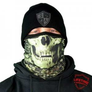 FROST TECH STEALTHTECH VERDUOUS SKULL FLEECE LINED FACE SHIELD