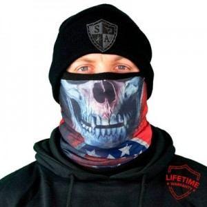 FROST TECH REBEL SKULL FLEECE LINED FACE SHIELD
