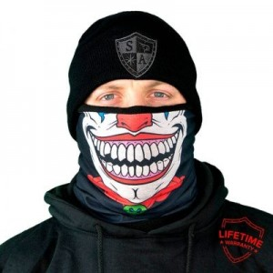 FROST TECH CLOWN FLEECE LINED FACE SHIELD