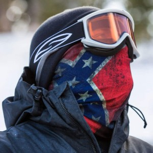 FROST TECH | REBEL FLAG FLEECE LINED FACE SHIELD