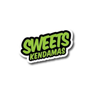 SWEETS KENDAMAS SUMO HALF SPLIT RED BLUE