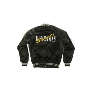 Sweets Kendama Sweets League Satin Jacket Black