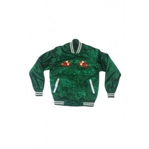 Sweets Kendama Sweets League Satin Jacket Green