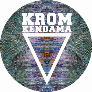 KROM KENDAMA RUBBER STRIPE GREEN W BLUE