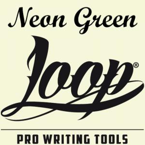 Spray Graffiti Loop 400ml - Neon Green