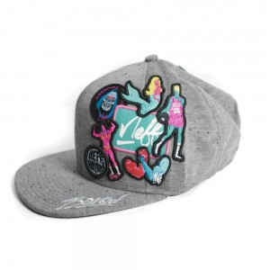 NEFF LAMECATION CAP DARK GREY