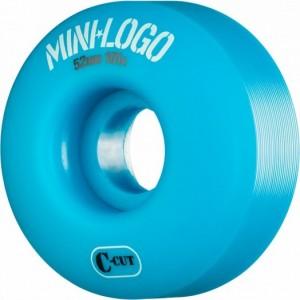 SET 4 ROTI MINI LOGO 52MMX101 BLUE