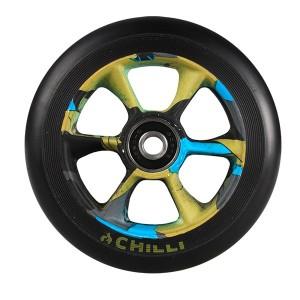 Roata Trotineta Chilli Turbo 110mm + Abec 9 black jungle
