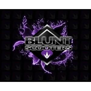 MANSOANE TROTINETA Blunt V2 Flangeless Handlebar Grip - Gum / Black