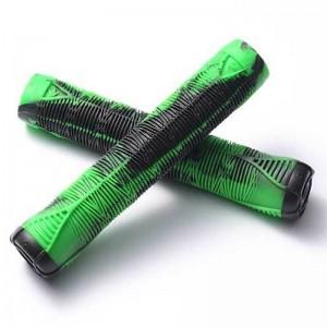 MANSOANE TROTINETA Blunt V2 Flangeless Handlebar Grip - Green / Black