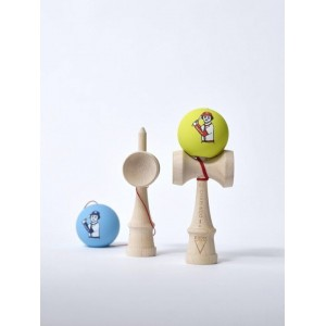 KROM KENDAMA CO BASEBALL NEON FULL MAPLE