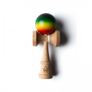 Sweets Kendamas Prime Customs V6 Midnight Rasta Atack