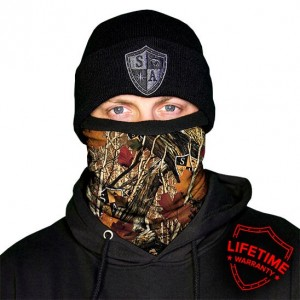 FROST TECH™ | SA FOREST CAMO FLEECE LINED FACE SHIELD™