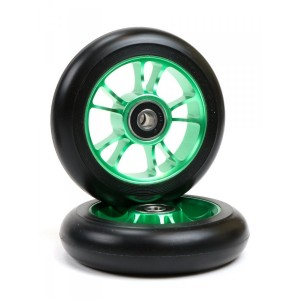 ROATA BLUNT 10 SPOKES 100MM-GREEN