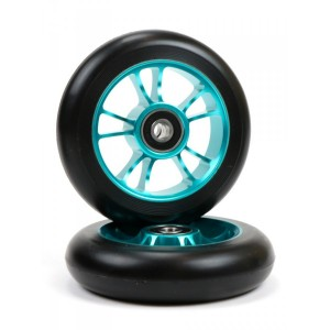ROATA BLUNT 10 SPOKES 100MM-TEAL